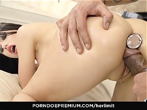 HER confine - raunchy ass fucking and face plumb with Sasha Rose