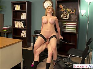 Cоugаr works her coochie in the office in the work-off day
