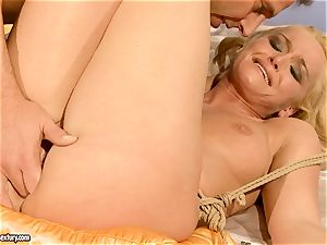 steamy Kathia Nobili gets her pussy crammed with chisel