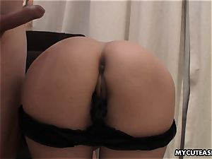 romping her from the back as she cums numerous times