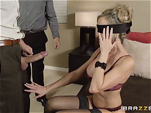 The spouse of Brandi love lets her poke a different boy