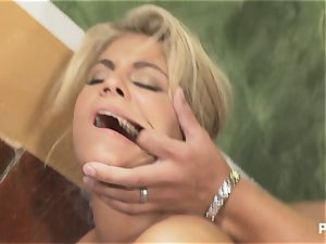 rectal with a pierced honey