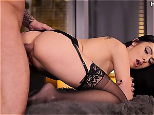 appetizing Marley Brinx lovinТ ass-fuck intercourse