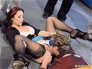 super-naughty office antics with Monique Alexander