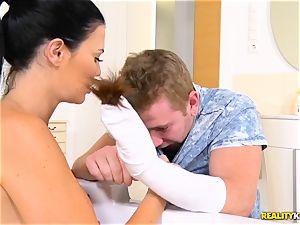 british mummy Jasmine Jae rammed in her nice humid gash