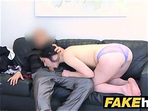 fake Agent super hot lean lingerie model boned