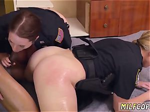 cougar spunk with me solo dark-hued male squatting in home gets our milf officers squatting on