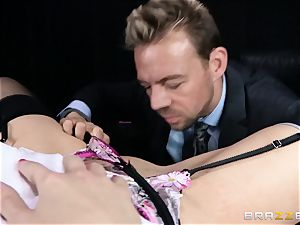 muddy boss is given a doable assfuck fantasy by Britney Amber