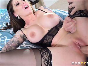 Darling Danika pays her insane neighbor a visiti