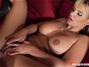 young stud Danny Dee romps his ex-girlfriend's buxomy mother Phoenix Marie