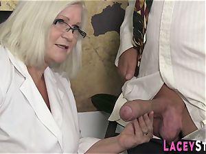 grannie loves hard-core fourway fuck-fest
