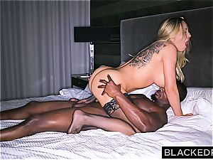 gigantic titted ditzy housewife gets slain by a fat ebony cumbot