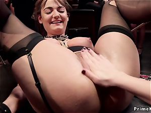 scorching gimps fisted at swingers party