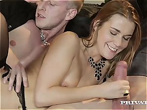 Alexis Crystal Loses Her assfuck chastity in an bang-out