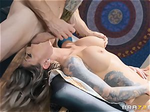 Karma RX well-lubed up and ready to fuck