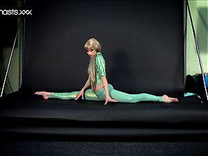 platinum-blonde mermaid Nebaskowa