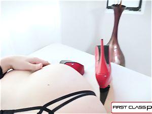 FirstClassPOV - stellar Chanel Preston blow a large prick