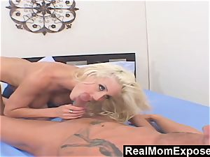 RealMomExposed satisfy pound My hefty titted mommy
