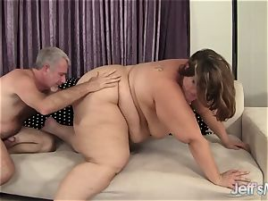 heavy Harlot Erin Green Has Her throat and poon romped