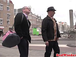 Pussyeaten amsterdam prostitute likes tourist
