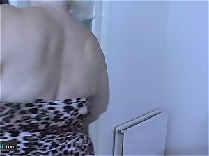 AgedLovE Mature ash-blonde Lacey Starr hardcore plumb