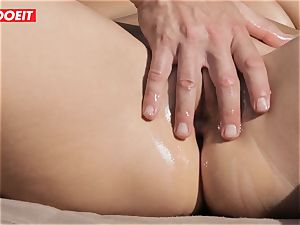 crazy Housewife Gets pounded by Her rubdown Therapist