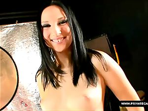 Lee Dia and Nicole Evans providing point of view deep-throat casting