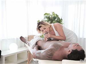 Anna Polina takes on hung big black cock deep in her red-hot labia