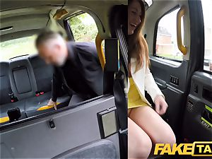 fake taxi crazy redhead sweetheart in sloppy fuck