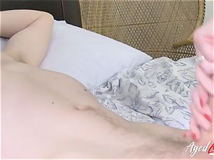 AgedLovE big-chested Lacey Starr xxx and blowage