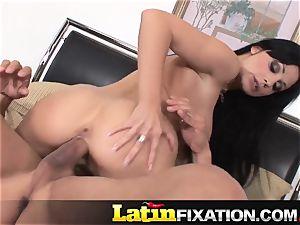 LatinFixation spunk-pump thirsty Aletta Ocean