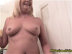 mommy Plays with Herself The Has pee urinate play Time