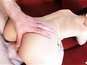 newly wed Katrina Jade is oiled up and plumbed by her fresh spouse