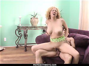 cougar Michelle honey fat jugged Get jism Showered