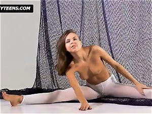 Mega splendid gymnast Salaskina