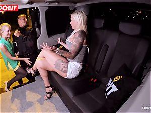 LETSDOEIT - fortunate taxi Driver Bones 2 steamy Blondes