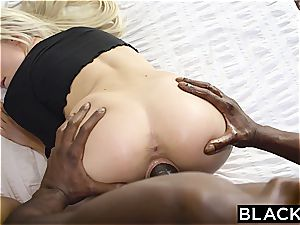 BLACKED very first bi-racial four way For Elsa Jean And Zoey Monroe