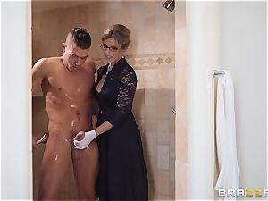 Cory chase romped in the shower