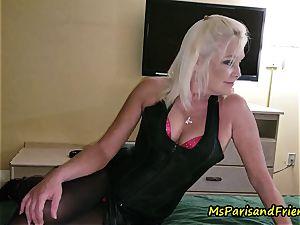 John Calls Over a fresh friend with Ms Paris Rose
