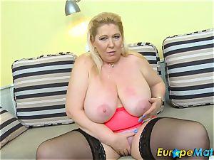 EuropeMaturE Jana Tvrda Czech Mature star Solo