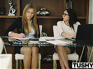 TUSHY Ariana Marie first-ever rectal