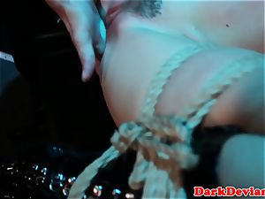flogged Chanel Preston pounded while tiedup