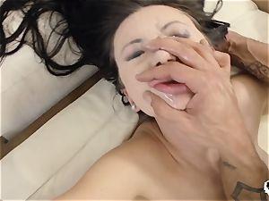 HER restrain - Russian Sasha Rose gets culo pummeled xxx