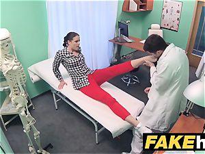 fake hospital doc prescribes goopy facial