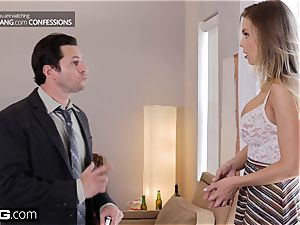 fuck Confessions Britney Amber gets her rump tucked