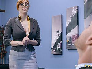 pecker greedy Lauren Phillips pummeled in her ginger vulva