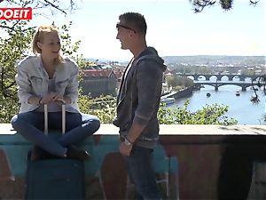 Russian babe torn up stiff By Czech fuckpole - LETSDOEIT