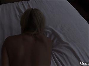 super hot blonde mummy internal cumshot sensation