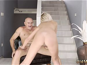 older wife gets porked very first time That was a lengthy biz tour without any minute of free