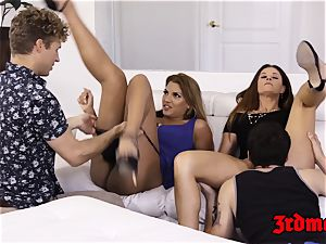 milf Mercedes Carrera riding prick intensively in fuck-a-thon